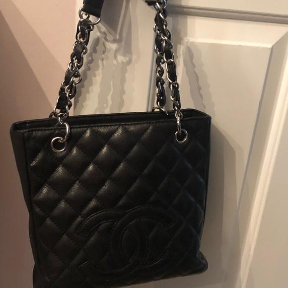 dda040704830 CHANEL Handbags - Petite Chanel Shopping Tote